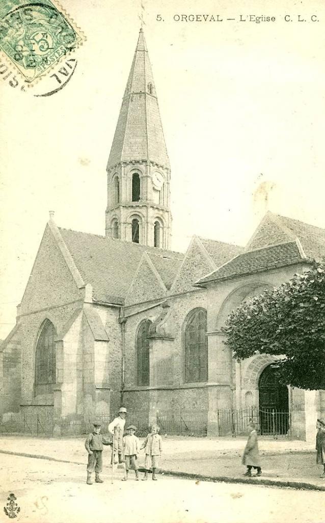 01- Eglise, façade nord