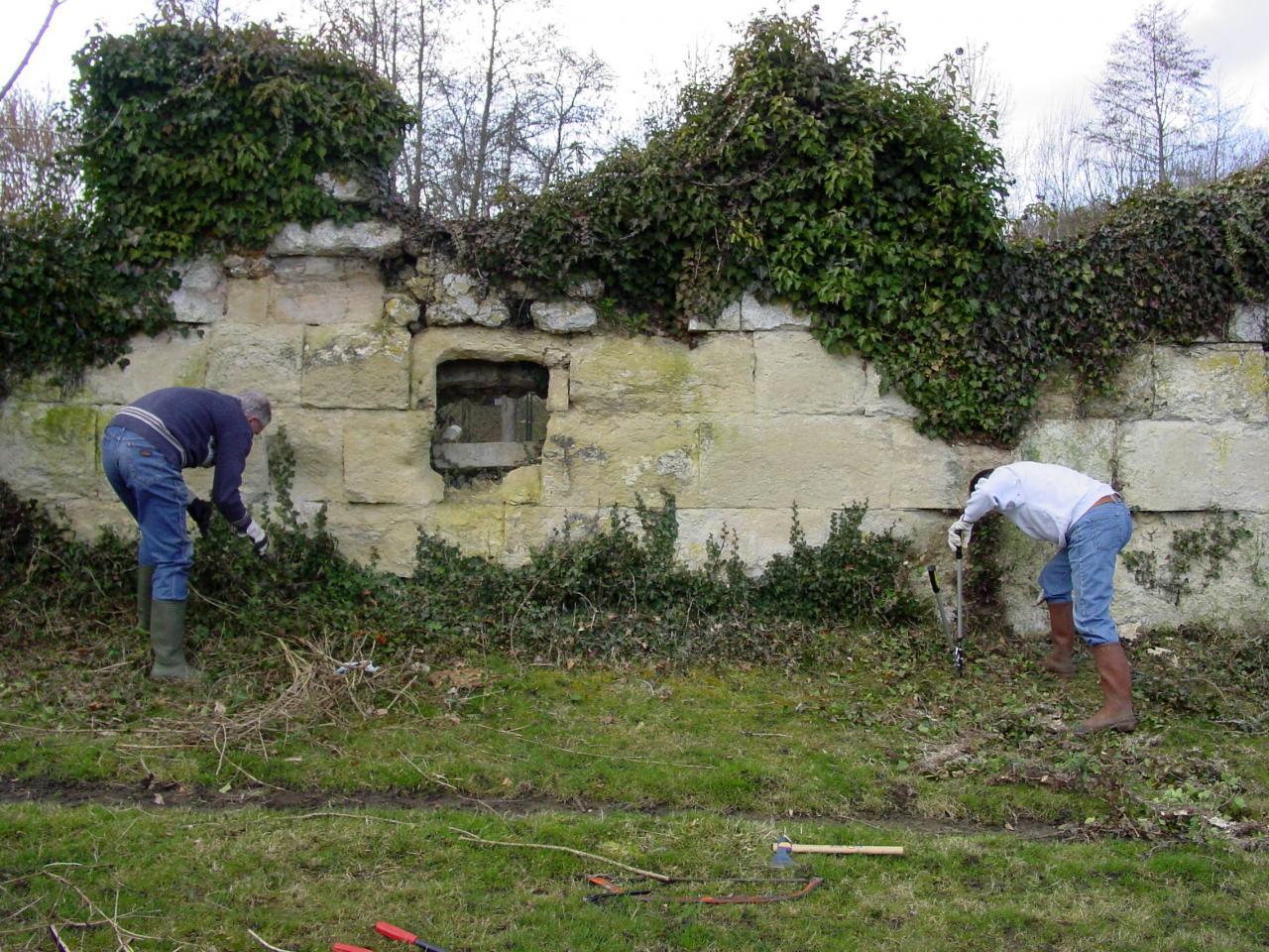 08-Défrichement mur d'Abbecourt