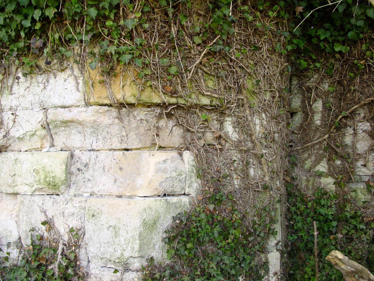 10-Mur extérieur de l'église de l'abbaye d'Abbecourtdécrochement 2009