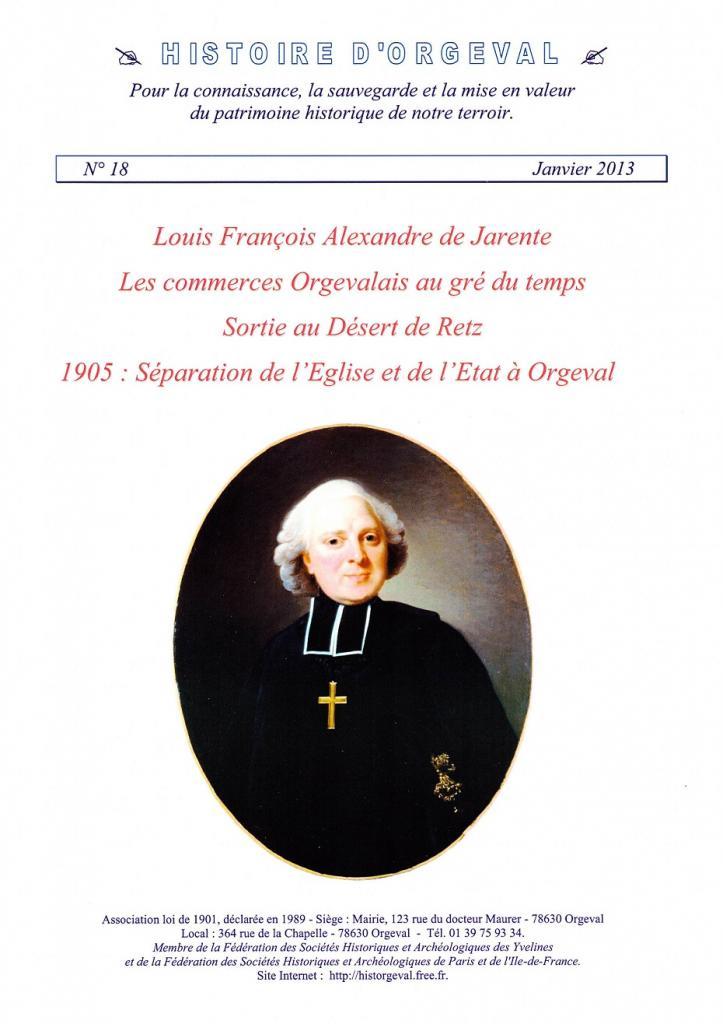 Bulletin N° 18 - 2013