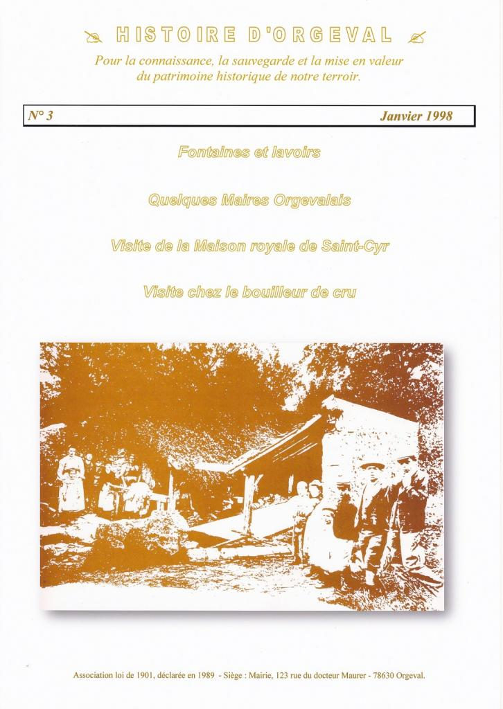 Bulletin N° 3 - 1998