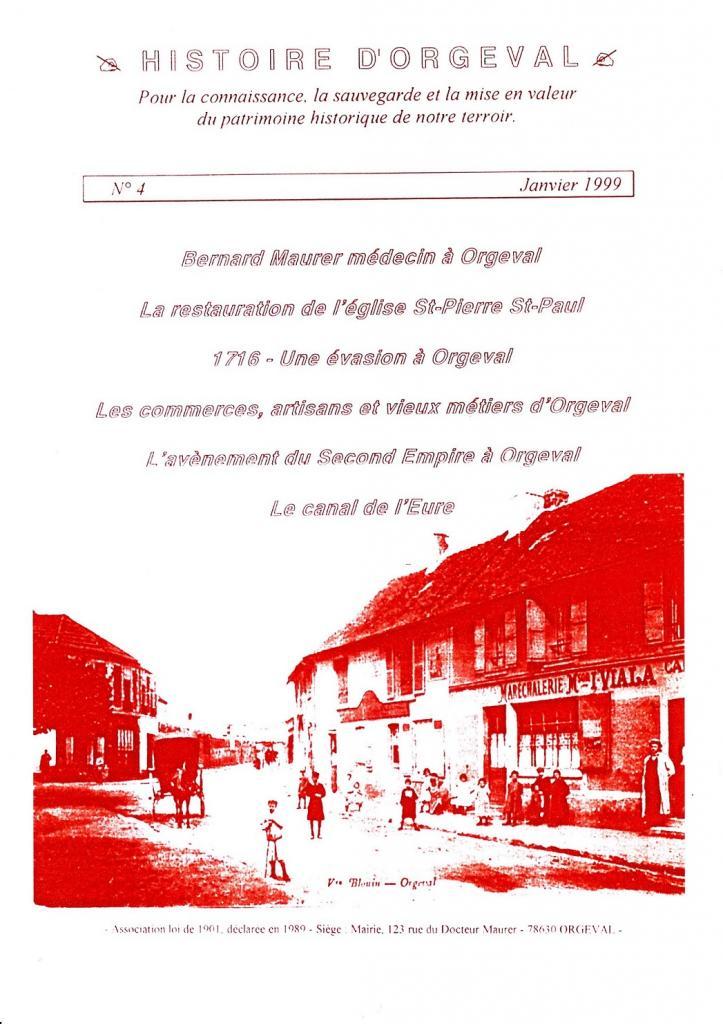 Bulletin N° 4 - 1999