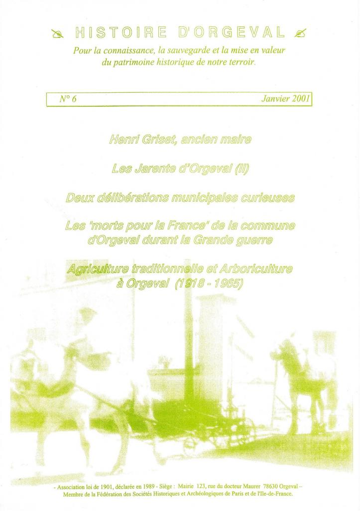 Bulletin N° 6 - 2001