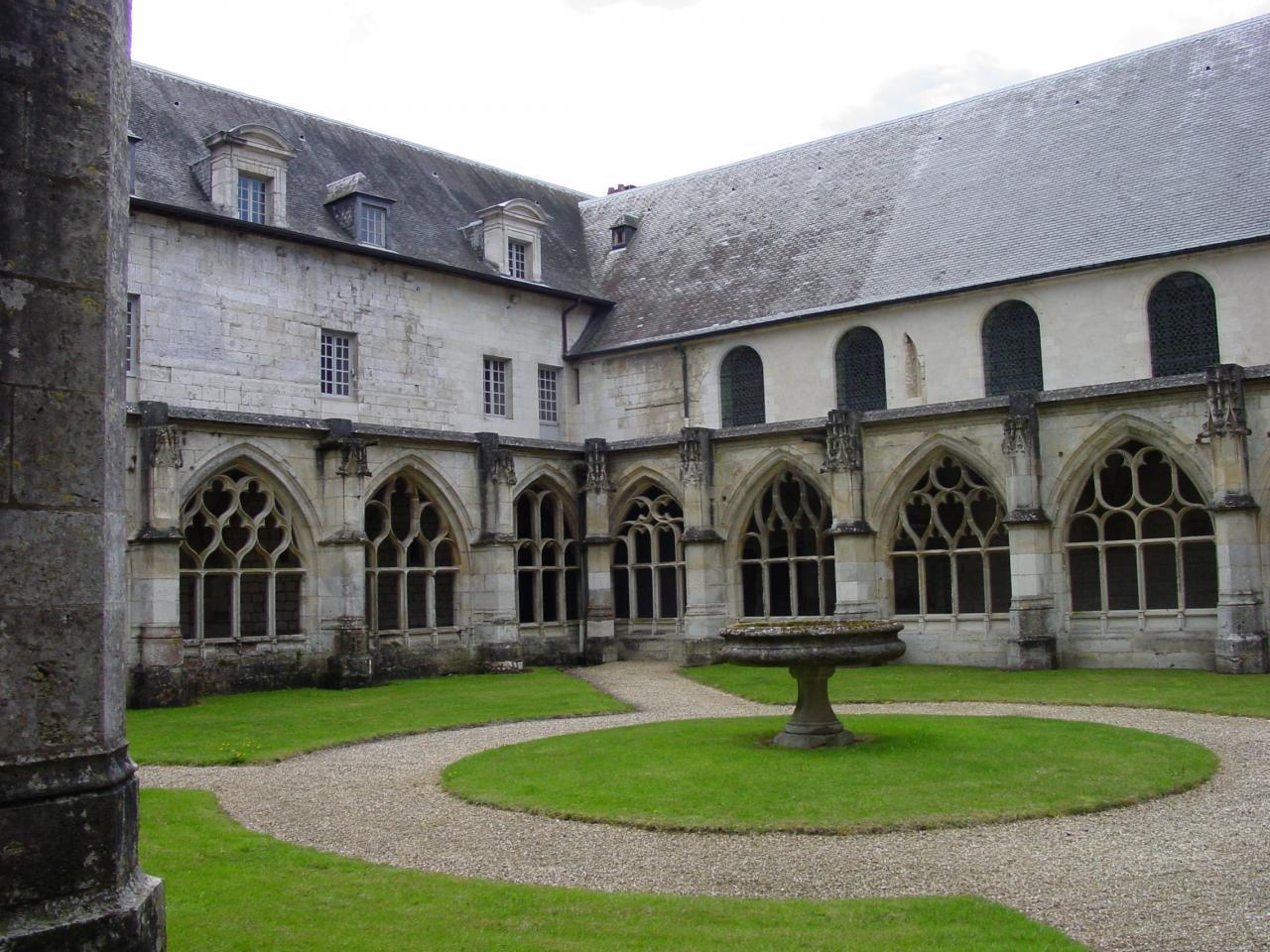 Abbaye Notre-Dame du Bec, Le Bec Hellouin (27) - 04/2004