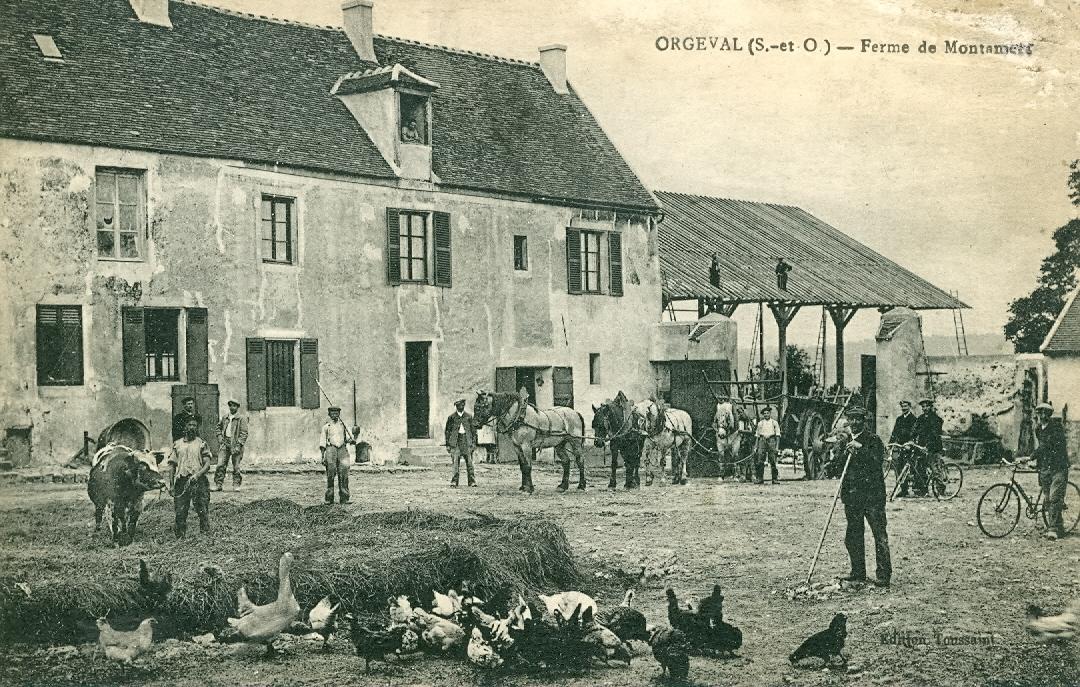 La ferme  de Montamets