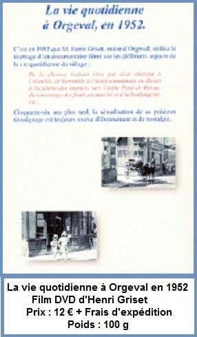 8 dvd film d henri griset orgeval en 1952 bis