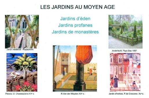 Jardins au moyen age