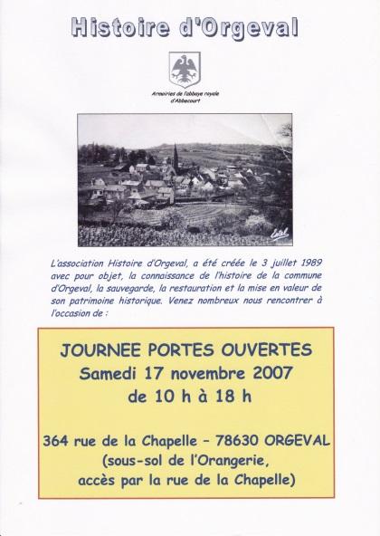 Portes ouvertes 11 11 2007