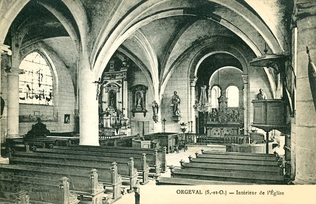Intérieur de l'Eglise, nef centrale
