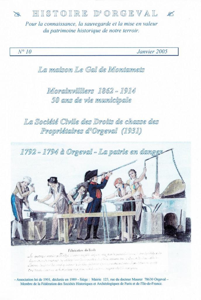 Bulletin N° 10 - 2005