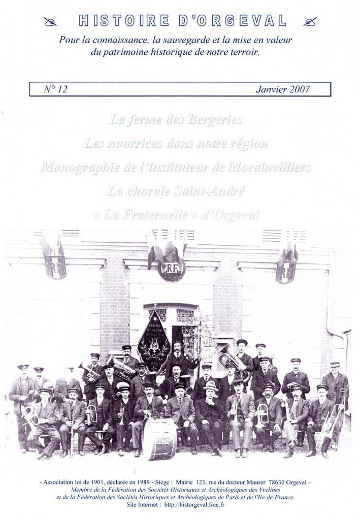 Bulletin N° 12 - 2007