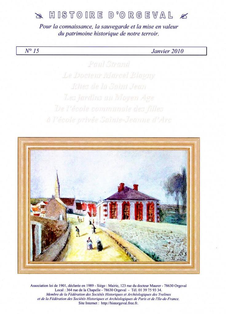 Bulletin N° 15 - 2010