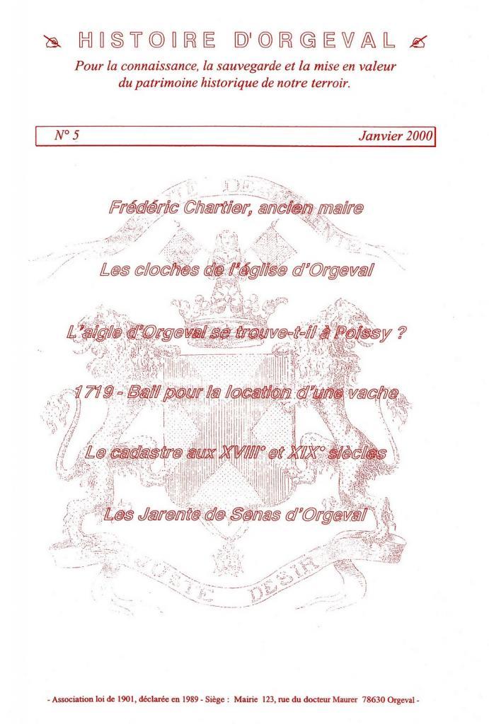 Bulletin N° 5 - 2000