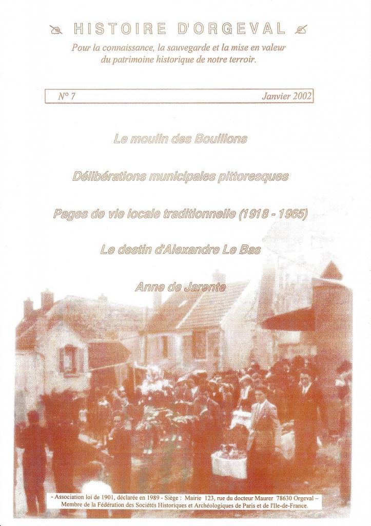 Bulletin N° 7 - 2002
