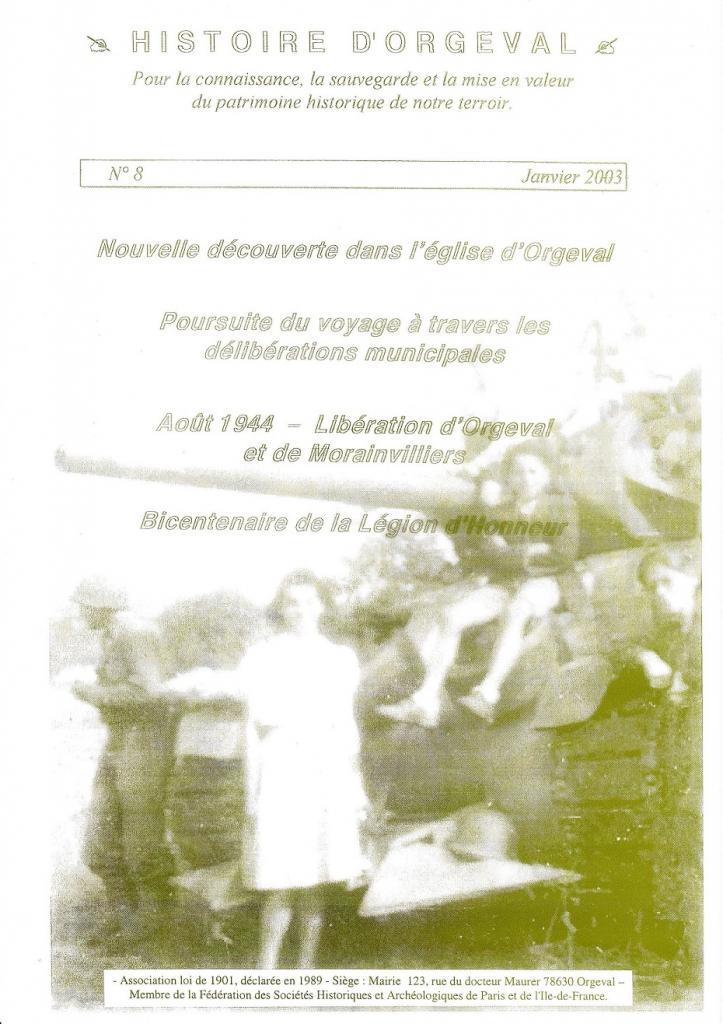 Bulletin N° 8 - 2003