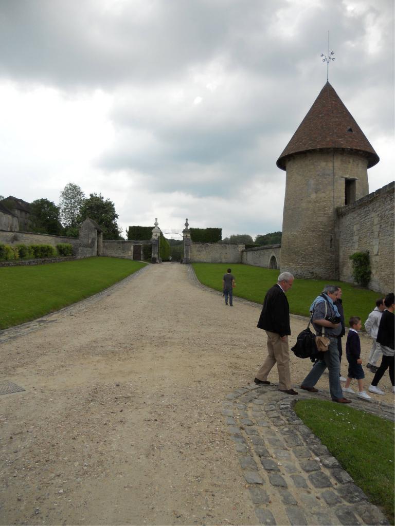 Domaine de Villarceaux à Chaussy (95) - Juin 2013