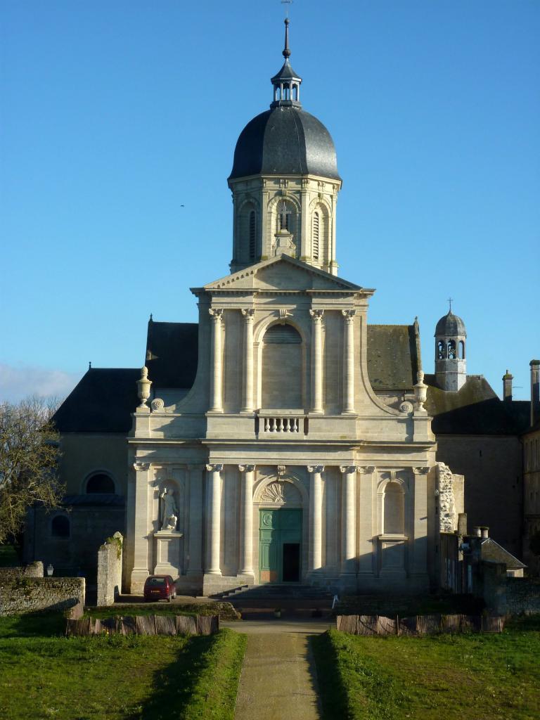 Abbaye de Mondaye, ordre de Prémontré (14) - Avril 2008