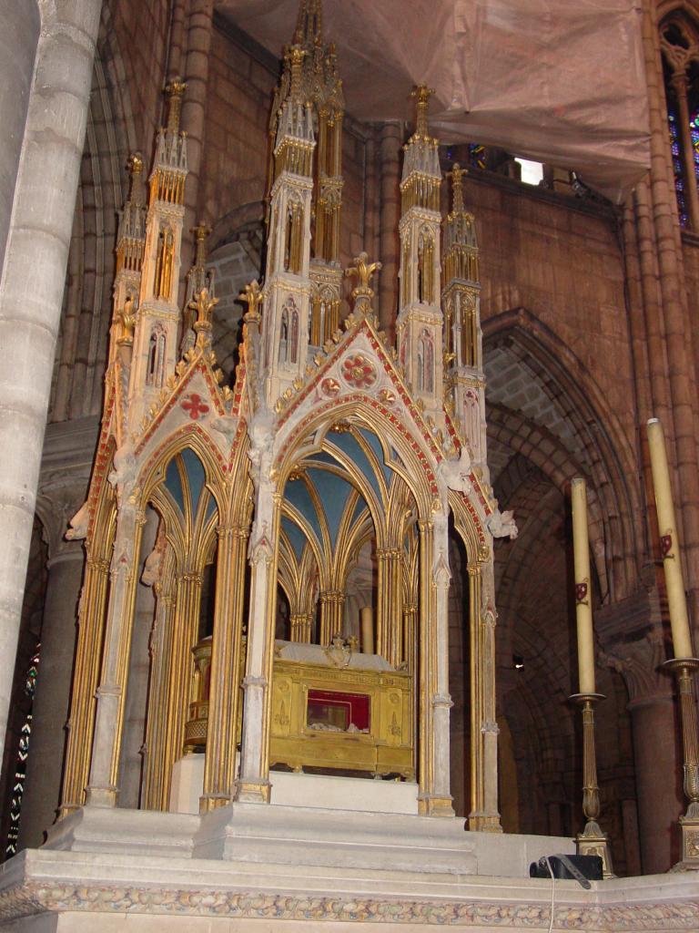 Basilique de Saint-Denis - Mars 2005
