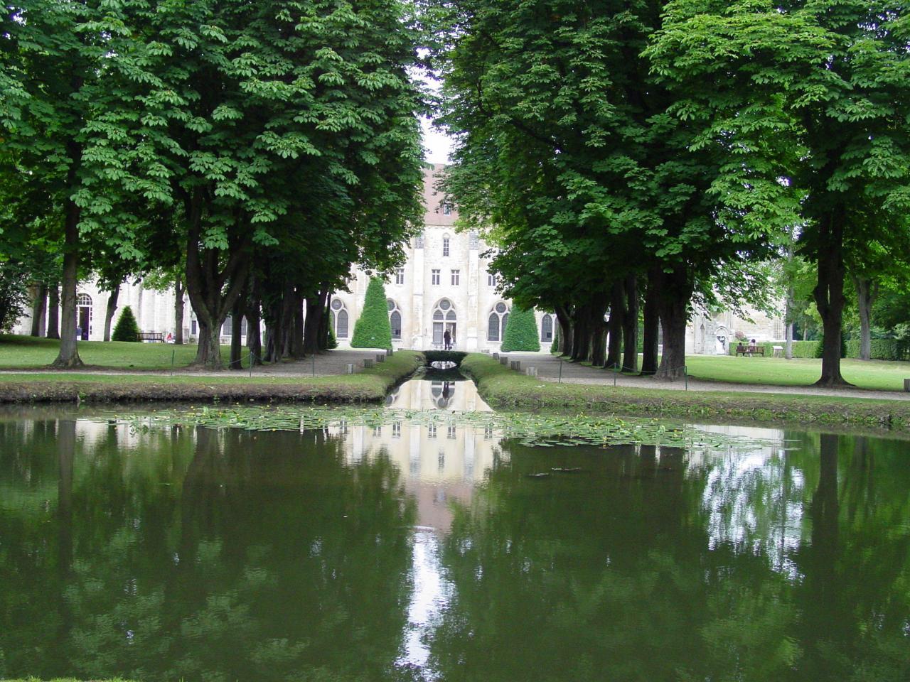 Abbaye de Royaumont - Octobre 2004