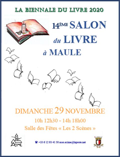 Salon du livre 2020 - MAULE
